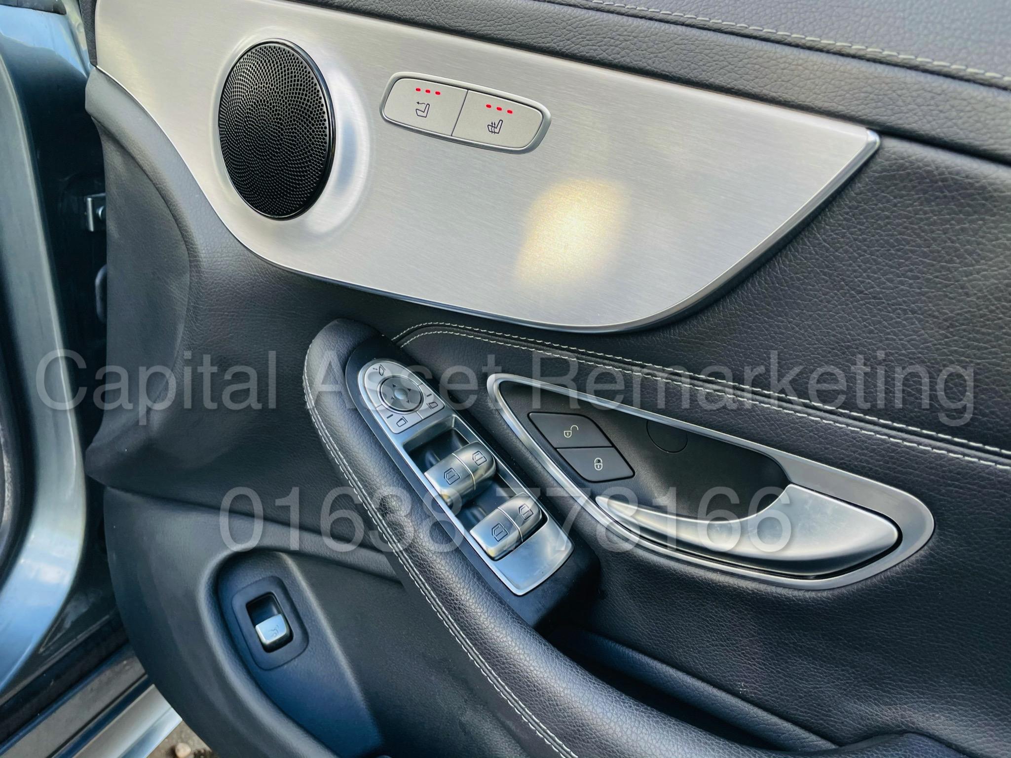 (On Sale) MERCEDES-BENZ C220D *AMG LINE -CABRIOLET* (2019) '9G AUTO - LEATHER - SAT NAV' *HUGE SPEC* - Image 27 of 43