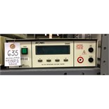 Associated Research 3560D Hypot II AC/DC Withstand Voltage Tester