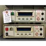 Associated Research 3500D + 3565D Hypot II AC/DC Withstand Voltage Tester
