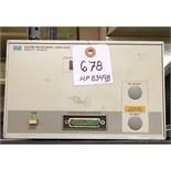 HP 8349B Microwave Amplifier