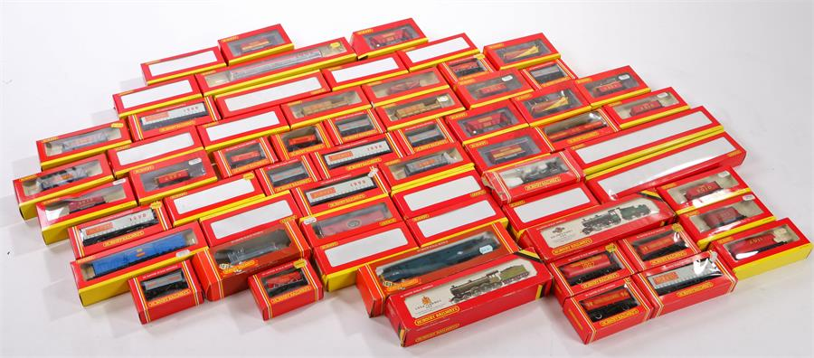 Lot 25 - Hornby model railway OO gauge rolling stock each decorated with the year of production (qty)