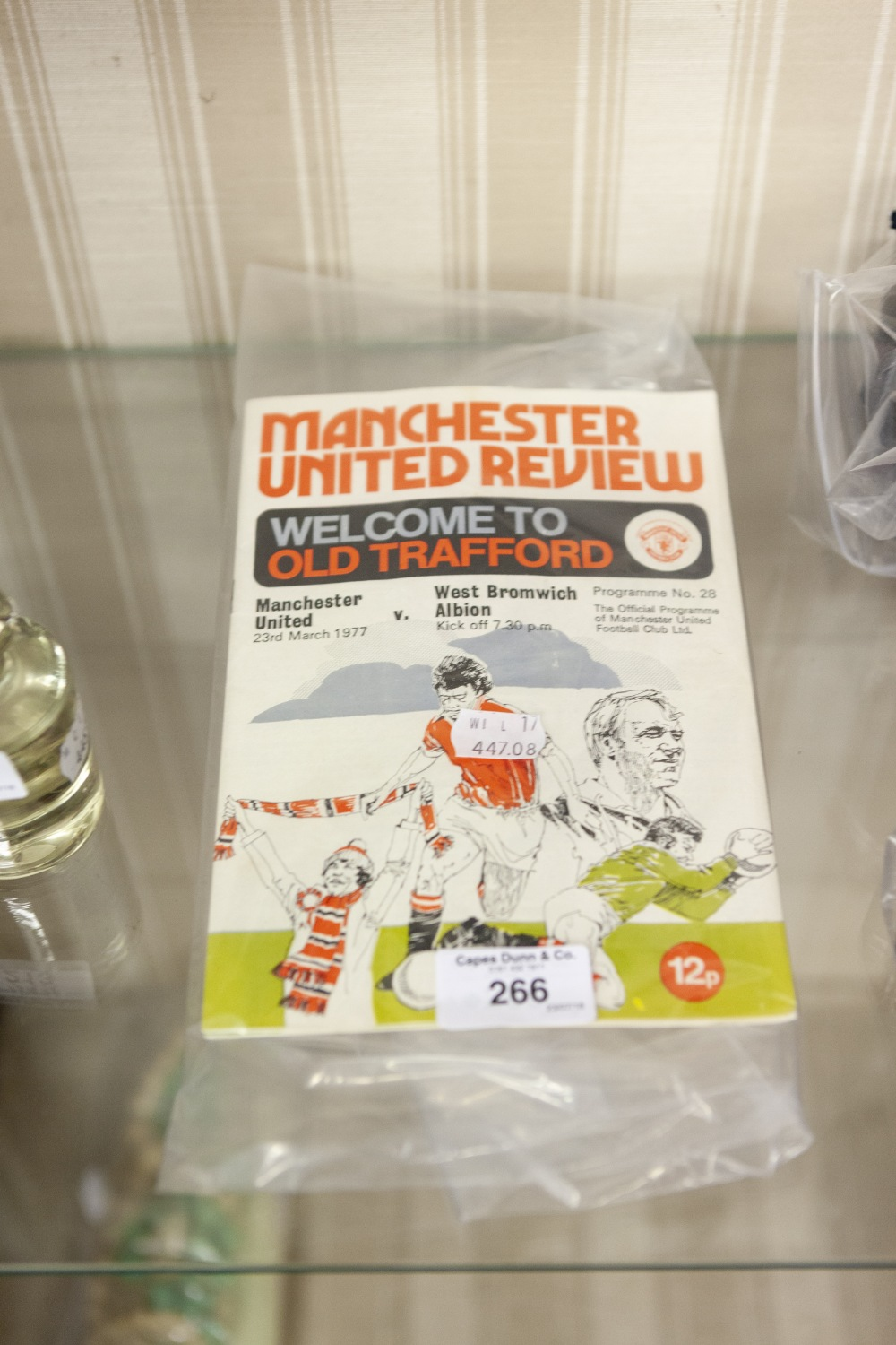 Lot 266 - MANCHESTER UNITED REVIEW (3), 1977 NO.s 28, 29 AND 30 (3)