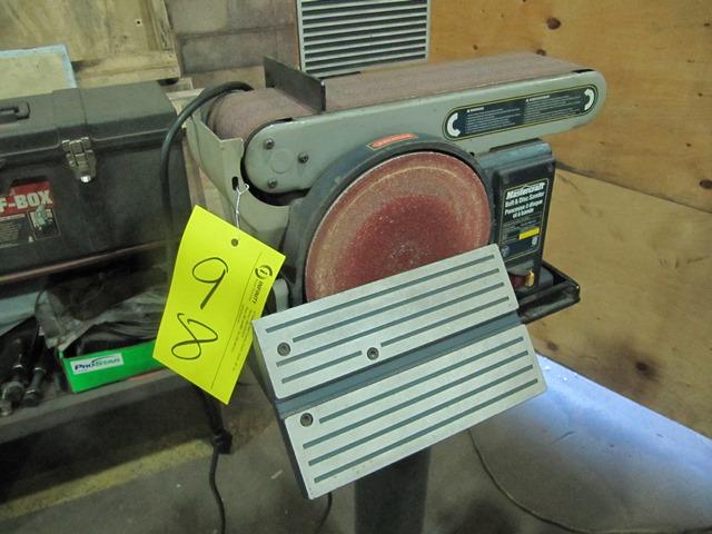 mastercraft belt and disc sander manual 55 3554 4