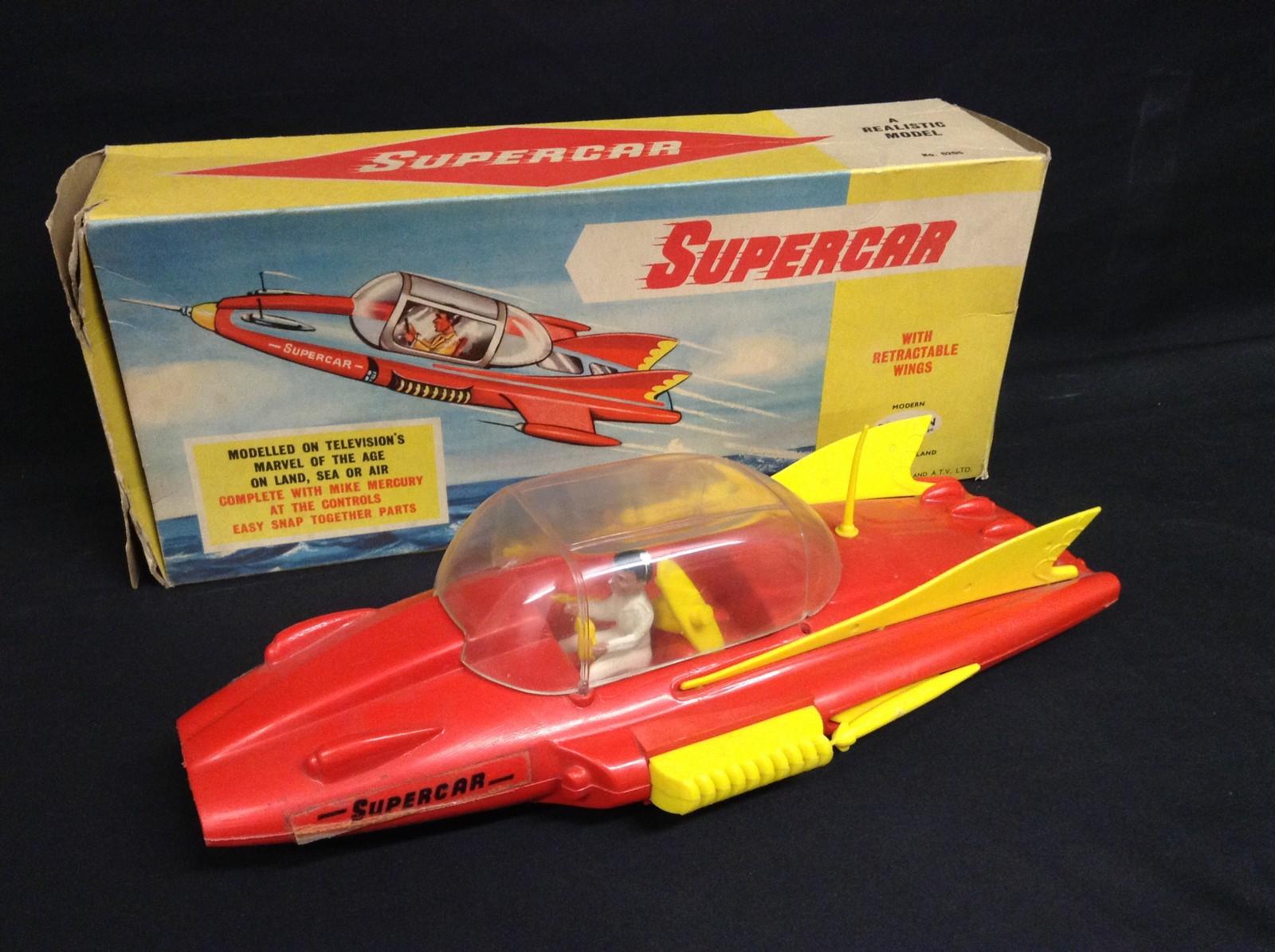 Plaston Toys A Rare Plastic Mike Mercury Super Car Boxed C