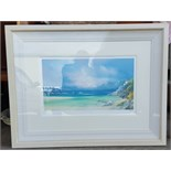 Large Limited Edition Artists Proof Print Philip Gray Titled Near Horizons III No. 10 of 20