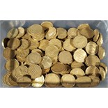 1kg plus in weight Pot of 3d (Three Pence) Pre Decimal British Coins. NO RESERVE