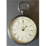 Antique Vintage Sterling Silver Pocket Watch c1895 J Hargreaves & Co. Liverpool