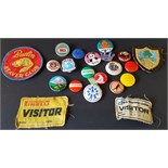 Vintage Retro Collectables Badges Parcel of 21