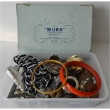 Parcel of Vintage Retro Costume Jewellery & Seal Set. NO RESERVE