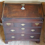 Antique Early Georgian Bureau Desk