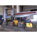 CSEPEL RFH5-4000 11' RADIAL ARM DRILL WITH SPEEDS TO 1900 RPM, 480V/3PH/60HZ, S/N 13377