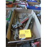 FLAT OF ADJUSTABLE WRENCHES