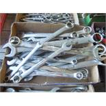 FLAT OF WRENCHES