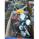 2 FLATS OF AIR FITTINGS, TOOLS