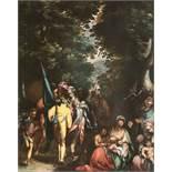 Abraham BloemaertDie Rast im Wald: vielfigurige Szene aus dem Alten TestamentÖl auf Leinwand,