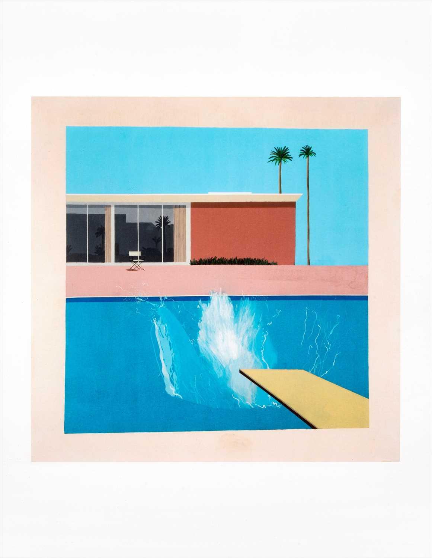 Lot 48 - David Hockney (British b.1937), 'A Bigger Splash 1967
