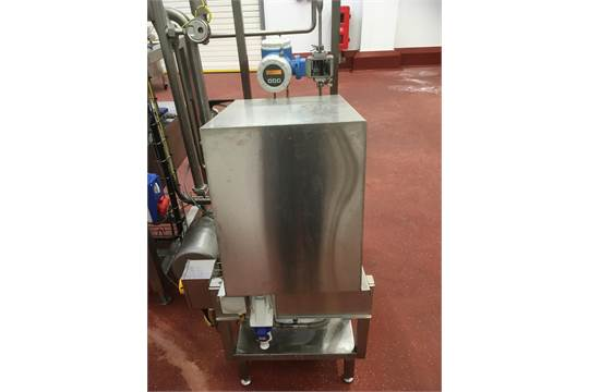Stainless Steel Skid Mounted Prominent Sigma Vitamin Dosing