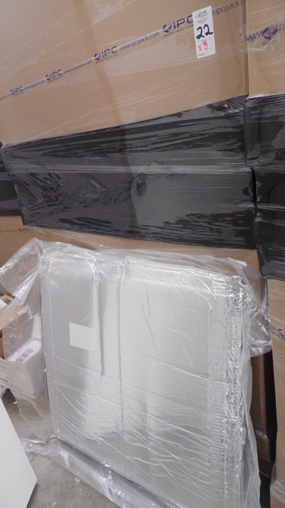 Lot 22 - INSULATED PACKS 15X11X11 (QTY 400)
