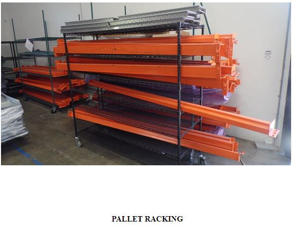Lot 0 - Register Now! Food Packaging / Scales / Racking