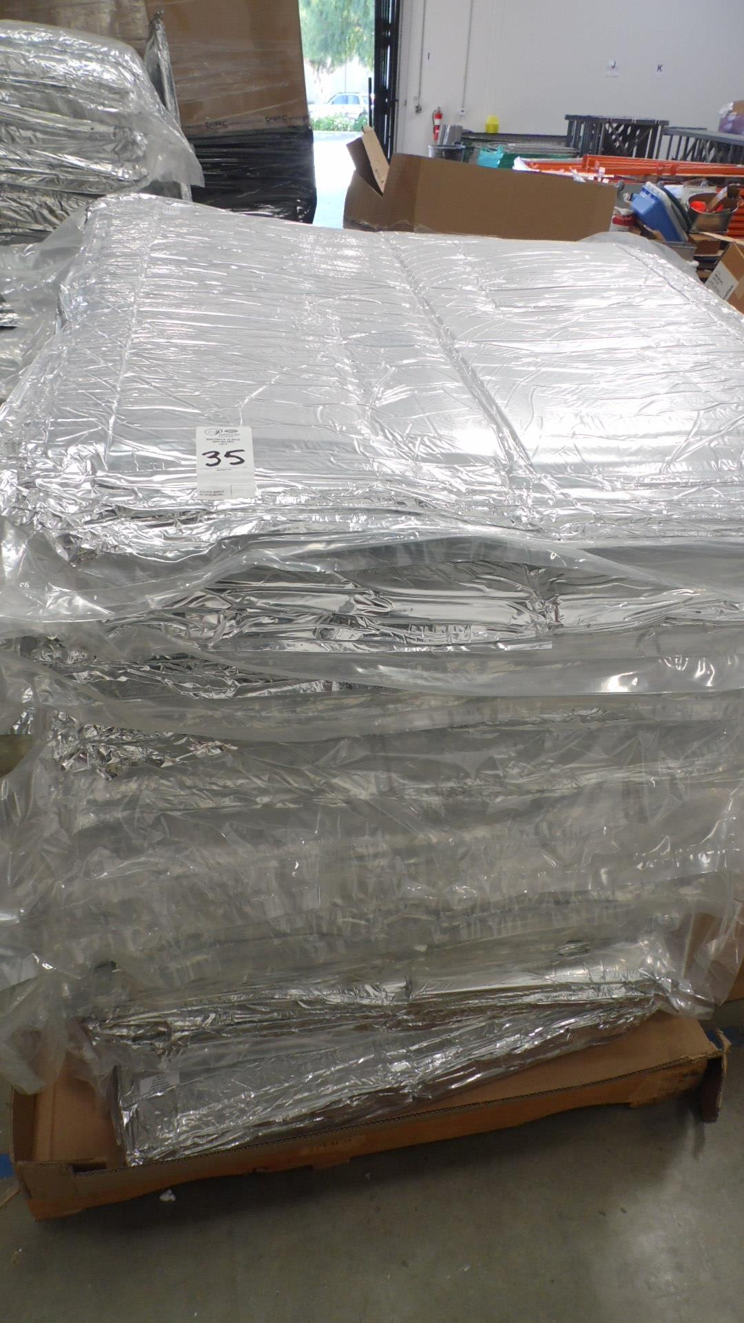 Lot 35 - PALLET INSULATED PACKS 17X14X11