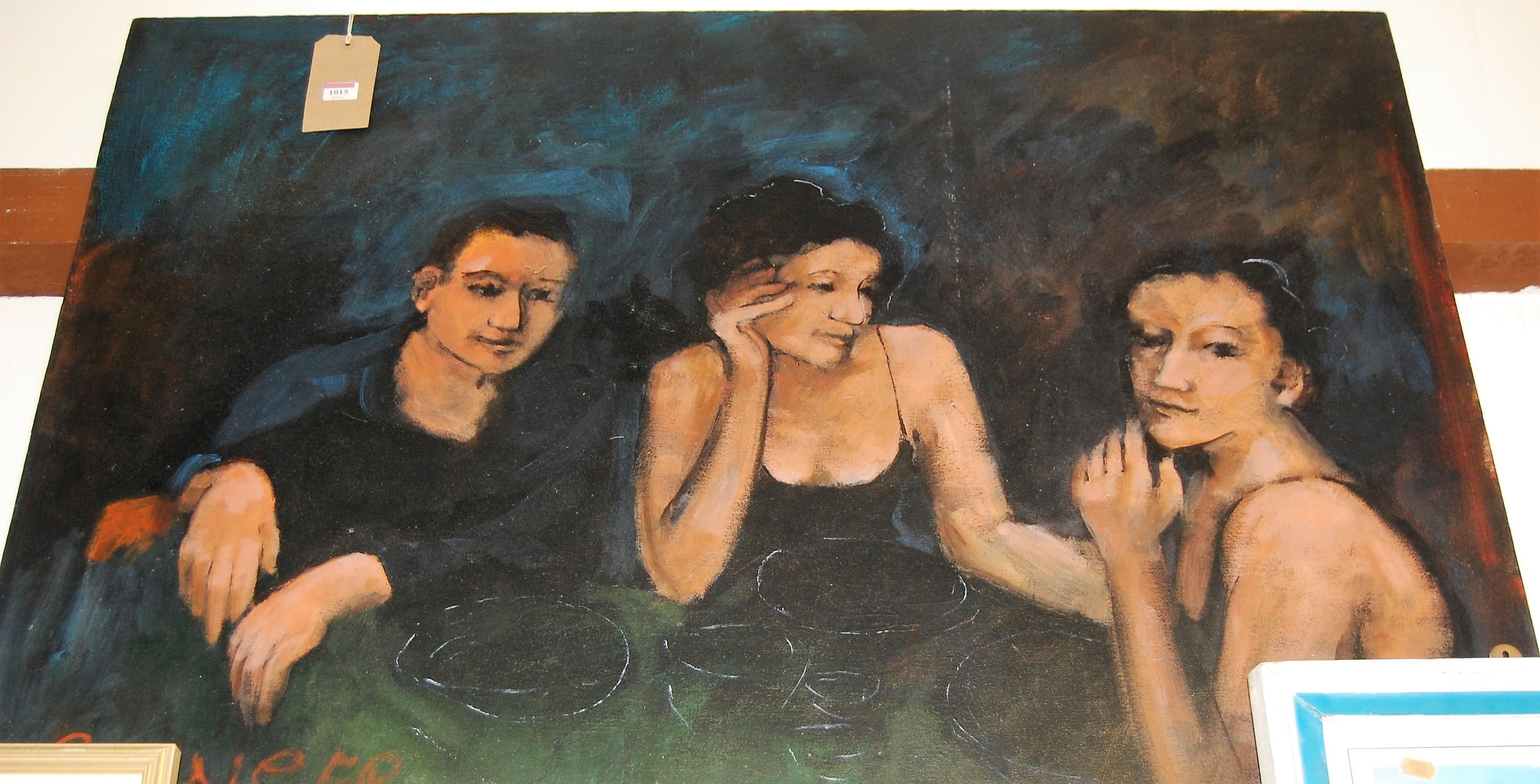 Lot 1015 - Grainger - Untitled, oil on canvas, 88 x 118cm