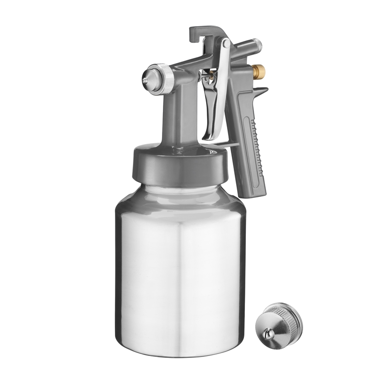 Lot 10080 - V Brand New Ozito Spray Putty Gun-160-260ml/Min Ideal For Spraying Fillers-Two Nozzles-Fluid