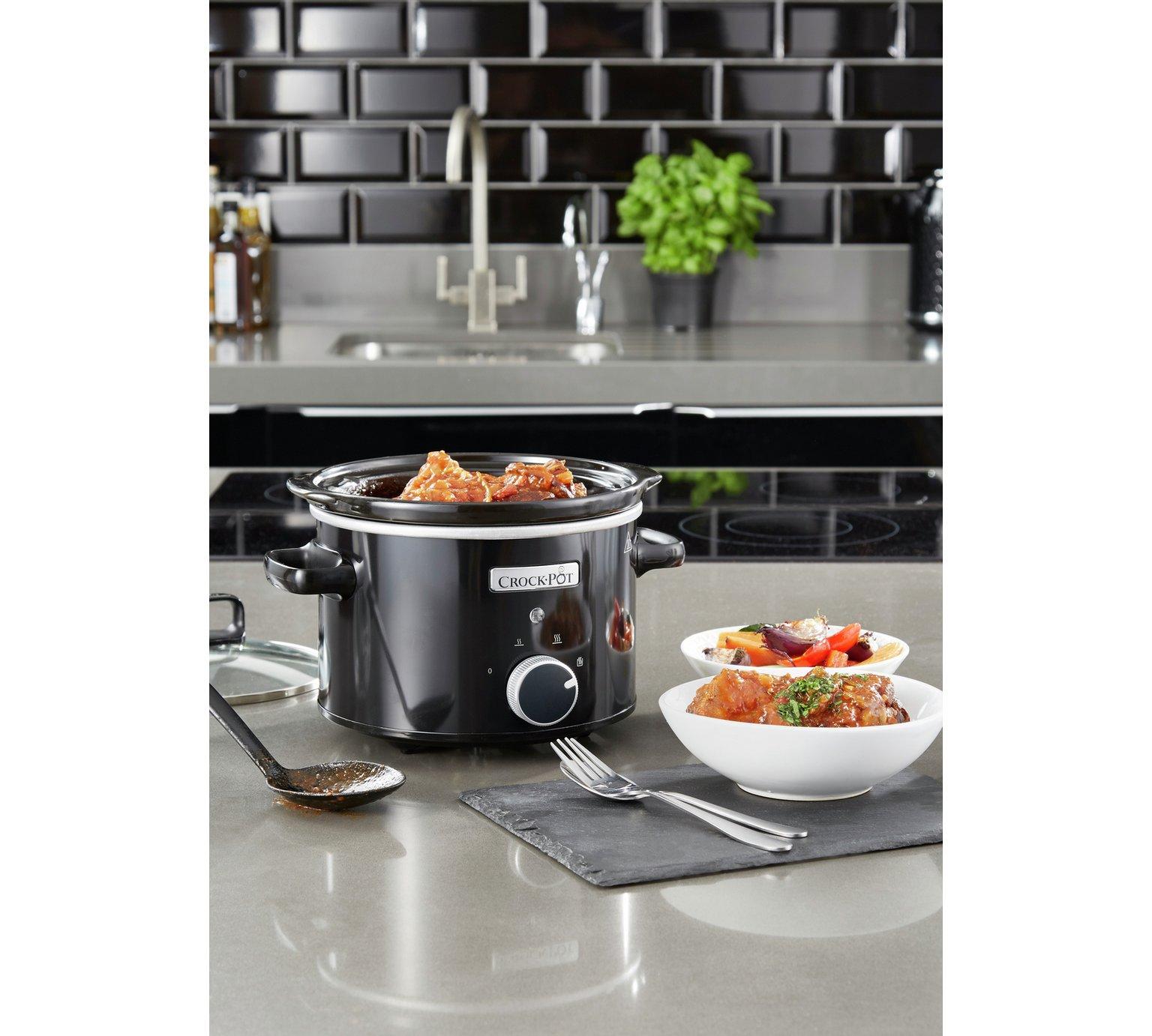Lot 10064 - V Brand New 2.4L Crock-Pot Slow Cooker - £31.99 at Espares.co.uk - Black - Dishwasher Safe - Oven