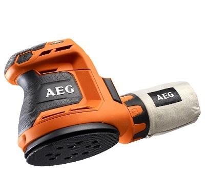 Lot 10081 - V Brand New AEG 18V BEX 18-125-0 125MM Random Orbital Sander ISP £109 (Homebase)