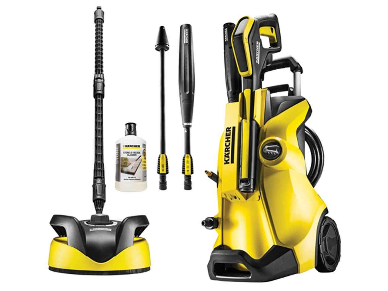 Lot 10076 - V Brand New Karcher K4 Water Cooled Full Control High Pressure Washer-ca.30M2/H-20-130 Bar Max-