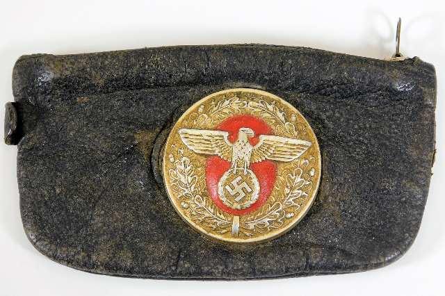 Lot 108 - A WW2 Nazi Germany Third Reich officers tobacco po