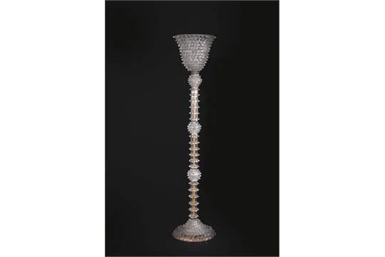 Lampade In Vetro Di Murano : Ercole barovier lampada da terra in vetro di murano rostrato e