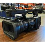 DESCRIPTION SONY PMW-EX1R EX FULL HD CAMCORDER W/ ACCESSORIES AND CARRYING KIT (SEE PHOTOS) LOCATION