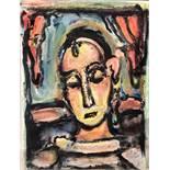 Georges Rouault - Tête de jeune fille<