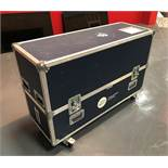 A 5 Star Mobile Flight Case, 1320mm x 480mm x 780mm (located at ADA Support, 178 Burnley Road, Wier,