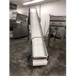 Hobart Portable Stainless Steel Incline Conveyor, Model BC1813, S/N 27-012–680,