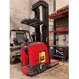 Raymond Standup Narrow Aisle Forklift, Model 740