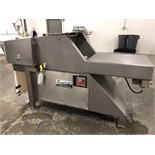 Hydrauflake Combination Meat Block Flaker & Slicer, Model 2501, 10-Cycle Slice Blades Mounted on