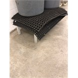 Approximately (6) Rubber Cushion Mats