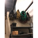 Assorted Extension Cords and Hoses