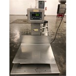 """Weigh Tronix S/S platform scale, Model QC 3265, serial number 022-795, Approximately 14"""" x 18"""", 1"""