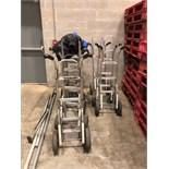 (3) Magliner 2-Wheel Dollies