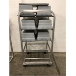 """Approximately 27"""" Wide by 54"""" H Drying Rack / Dolly"""