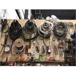 Tools and Assorted Shop items Through Machine Shop Assorted Hydraulic Hoses
