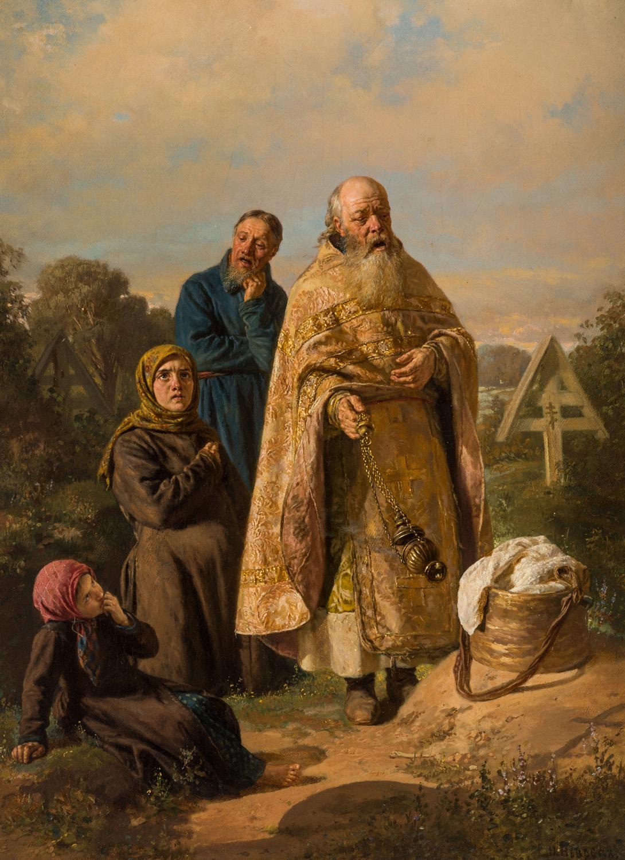 NIKOLAI NEVREV (RUSSIAN 1830-1904)