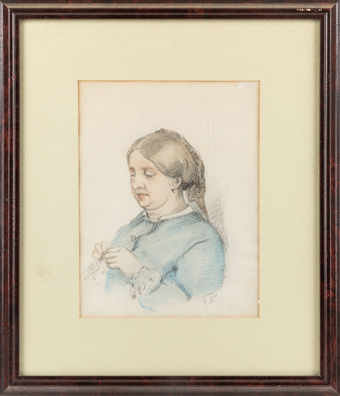 BORIS KUSTODIEV (RUSSIAN 1878-1927) - Image 2 of 4