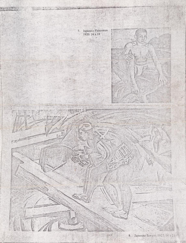 DAVID BURLIUK (RUSSIAN 1882-1967) - Image 6 of 6
