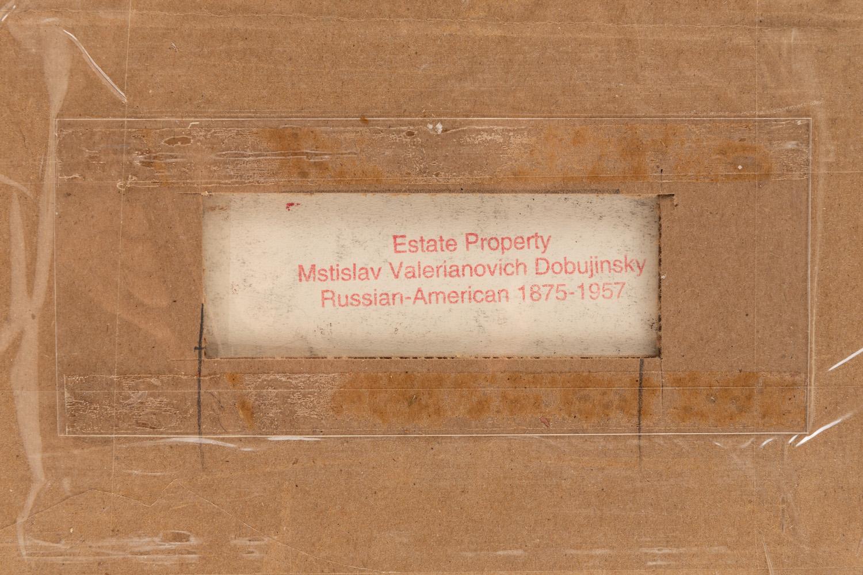 MSTISLAV DOBUZHINSKY (RUSSIAN-LITHUANIAN 1875-1957) - Image 5 of 5