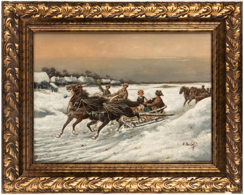 CONSTANTIN STOILOFF (RUSSIAN 1850-1924) - Image 2 of 5