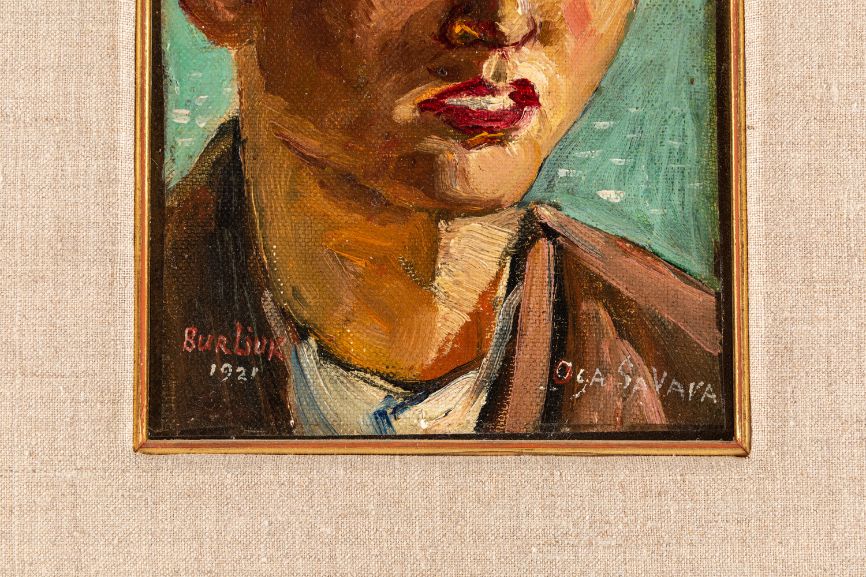 DAVID BURLIUK (RUSSIAN 1882-1967) - Image 3 of 6