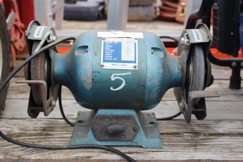 Lot 5 - 1/2 HR. BENCH GRINDER